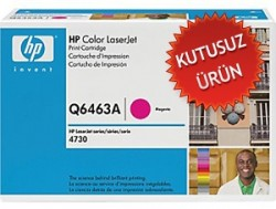 HP - HP Q6463A (644A) KIRMIZI ORJİNAL TONER (Kutusuz Ürün) CM4730