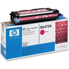 HP - HP Q6473A KIRMIZI ORJİNAL TONER-HP 3600 ORJİNAL TONER