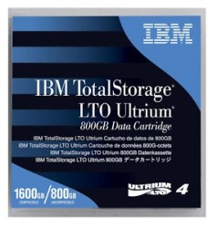 - IBM 95P4436 DATA KARTUŞU (LTO4) 800GB / 1600 GB