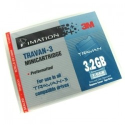 - IMATION 45578 TRAVAN-3 (TR-3) 1.6 GB / 3.2 GB 228m DATA KARTUŞU
