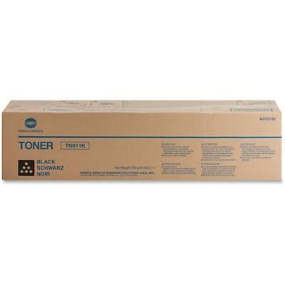 KONICA MINOLTA - KONICA MINOLTA TN-611K SİYAH ORJİNAL TONER Bizhub C451, C550, C650