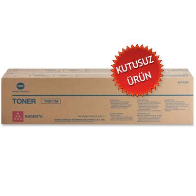 KONICA MINOLTA - KONICA MINOLTA TN-611M KIRMIZI ORJİNAL TONER (Kutusuz Ürün) Bizhub C451, C550, C650