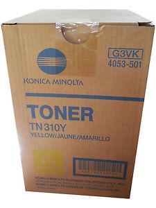 KONICA MINOLTA - KONICA MINOLTA TN310Y ORJİNAL SARI TONER bizhub C350 / C351 / 450