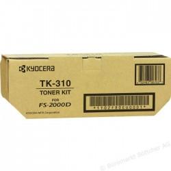 KYOCERA - KYOCERA TK-310 SİYAH ORJİNAL TONER FS-2000