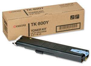 KYOCERA - KYOCERA TK-800Y SARI ORJİNAL TONER FS-C8008