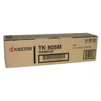 KYOCERA - KYOCERA TK-805M KIRMIZI ORJİNAL TONER KM-C850