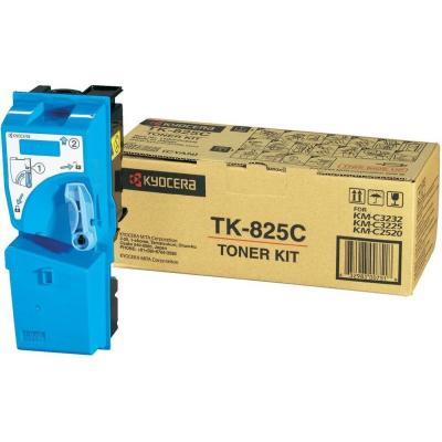 KYOCERA - KYOCERA TK-825C MAVİ ORJİNAL TONER KM-C2520 / 2525 / 3225