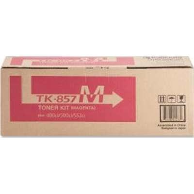 KYOCERA - KYOCERA TK-857M KIRMIZI ORJİNAL TONER - TASKalfa 400CI / 500CI / 552CI