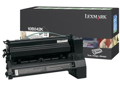 LEXMARK - LEXMARK 10B042K SİYAH ORJİNAL TONER Yüksek Kapasite C750 / X750