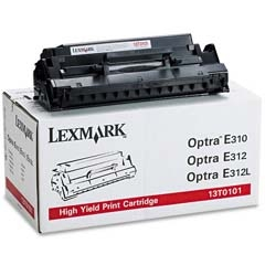 LEXMARK - LEXMARK 13T0101 SİYAH ORJİNAL TONER - LEXMARK E310-E312 YAZICI TONERİ
