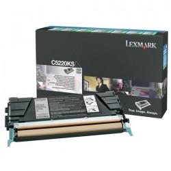 LEXMARK - LEXMARK C5220KS SİYAH ORJİNAL LAZER TONER - C522 / C524 / C530