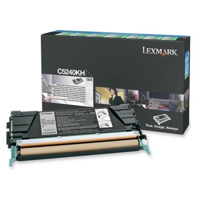 LEXMARK - LEXMARK C5240KH SİYAH ORJİNAL TONER C524 / C534