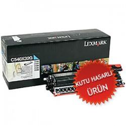 LEXMARK - LEXMARK C540X32G MAVİ DEVELOPER (Kutu Hasarlı) C540/C544/X544/X546