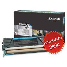 LEXMARK - LEXMARK C746A1CG MAVİ ORJİNAL TONER C746 / C748