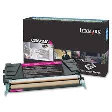 LEXMARK - LEXMARK C746A1MG KIRMIZI ORJİNAL TONER C746 / C748