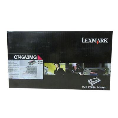LEXMARK - LEXMARK C746A3MG KIRMIZI ORJİNAL TONER C746 / C748