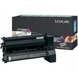 LEXMARK - LEXMARK C7720MX KIRMIZI ORJİNAL TONER - C772 / X772