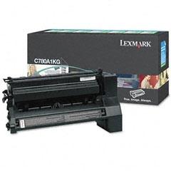 LEXMARK - LEXMARK C780A1KG SİYAH ORJİNAL TONER - C780/C782