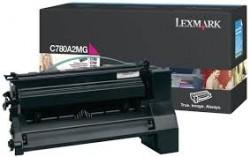 LEXMARK - LEXMARK C780A2MG KIRMIZI ORJİNAL TONER - C780/C782