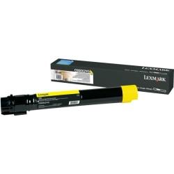 LEXMARK - LEXMARK C950X2YG SARI ORJİNAL TONER C950 - 22.000 Sayfa