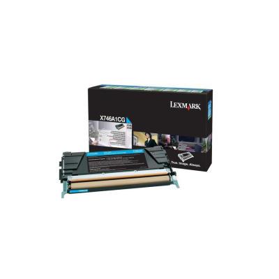 LEXMARK - LEXMARK X746 / X748 MAVİ ORJİNAL TONER (X746A1CG)