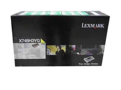 LEXMARK - LEXMARK X748H3YG SARI ORJİNAL TONER X748DE / X748DTE