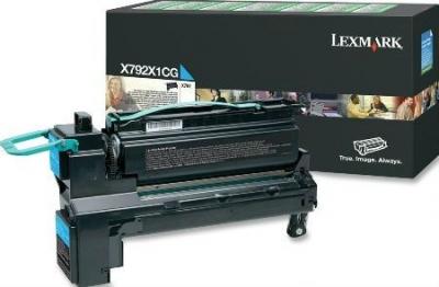 LEXMARK - LEXMARK X792X1CG MAVİ ORJİNAL TONER 20.000 Sayfa