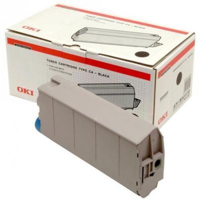 OKI - OKI 41963008 SİYAH ORJİNAL TONER - OKI C7100/C7300/C7500