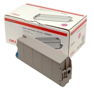 OKI - OKI 41963084 KIRMIZI RENKLİ ORJİNAL TONER - OKI C7100/C7300/C7500 TONERİ