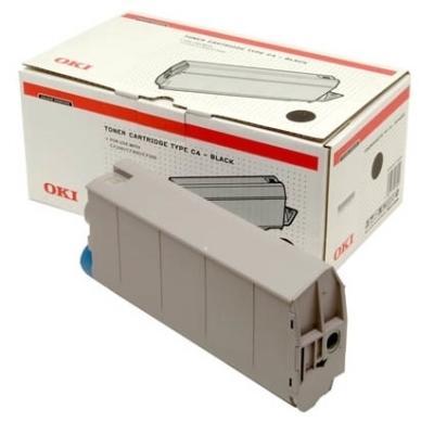 OKI - OKI 41963086 SİYAH ORJİNAL TONER - OKI C7100/C7300/C7500 TONERİ