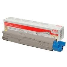 OKI - OKI 43459405 SARI RENKLİ TONER - OKI C3300 / 3400 / 3450 / 3600