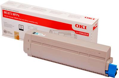 OKI - OKI 45862848 MC873 SİYAH ORJİNAL TONER 15.000 Sayfa
