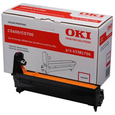 OKI - OKI C5600-C5700 43381706 KIRMIZI DRUM ÜNİTESİ