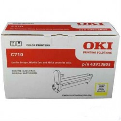 OKI - OKI C710 43913805 SARI ORJİNAL DRUM ÜNİTESİ