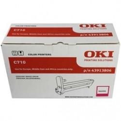 OKI - OKI C710 43913806 KIRMIZI ORJİNAL DRUM ÜNİTESİ