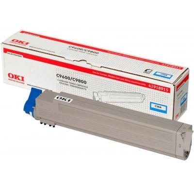 OKI - OKI C9600 MAVİ ORJİNAL TONER (42918915)