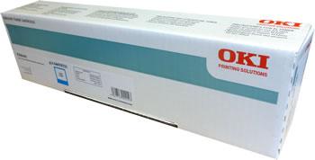 OKI - OKI ES8460 44059231 MAVİ ORJİNAL TONER