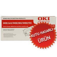 OKI - OKI MB260-MB280-MB290 01239901 ORJİNAL TONER (KUTU HASARLI ÜRÜN)