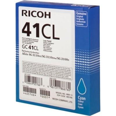 RICOH - RICOH 405766 GELJET MAVİ ORJİNAL KARTUŞ SG2100 / SG3110 / SG3100