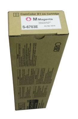 RICOH - RISO S-6703E KIRMIZI ORJİNAL KARTUŞ ComColor 3110, 3150, 7110, 7150, 9110, 9150