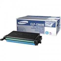 SAMSUNG - SAMSUNG CLP-C660B MAVİ ORJİNAL TONER CLP-610/CLP-660