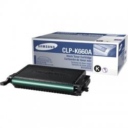 SAMSUNG - SAMSUNG CLP-K660A SİYAH ORJİNAL TONER- CLP-610/CLP-660