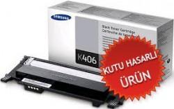 SAMSUNG - SAMSUNG CLT-K406S SİYAH ORJİNAL TONER (Kutu Hasarlı Ürün)