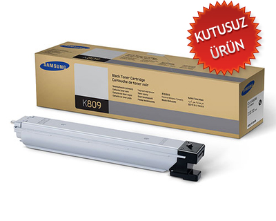 SAMSUNG - SAMSUNG CLT-K809S SİYAH ORJİNAL TONER (Kutusuz Ürün) CLX-9201 / CLX-9251 / CLX-9301