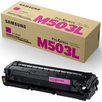 SAMSUNG - SAMSUNG CLT-M503L KIRMIZI ORJİNAL TONER SL-C3060FR 5,000 Sayfa