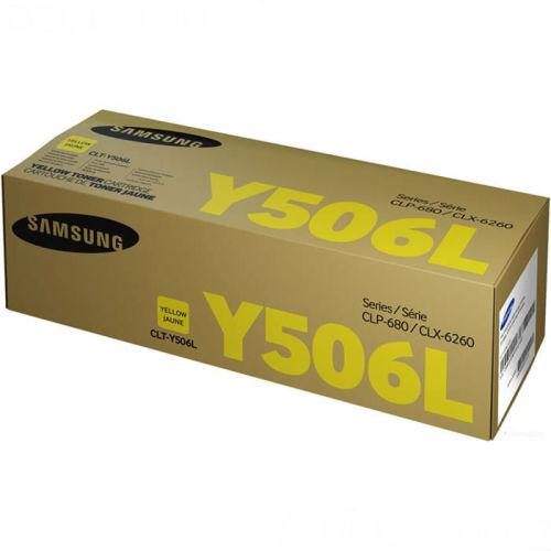 SAMSUNG CLT-Y506L SARI ORJİNAL TONER CLX-6260 / CLP-680