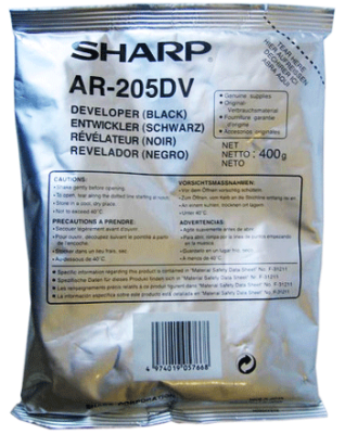 SHARP - SHARP AR-205DV ORJİNAL DEVELOPER AR-5516 / AR-5520 / MX-M160 / MX-M200