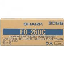 SHARP - SHARP FO-26DC FO-2600/F-2700M/FO-2700 ORJİNAL FAKS TONERİ