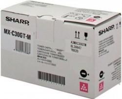 SHARP - SHARP MX-C30GT-M KIRMIZI ORJİNAL TONER MX-C250 / MX-C300