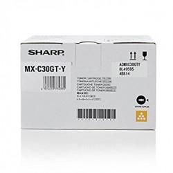 SHARP - SHARP MX-C30GT-Y SARI ORJİNAL TONER MX-C250 / MX-C300